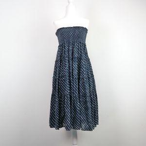 LAUREN RALPH LAUREN Casual Tube Ruched Tier Dress